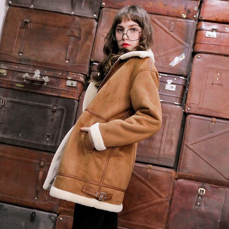 Suede Long Coats AS3723