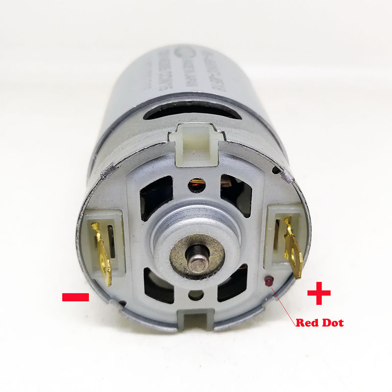 Image 5 - Electric Drill DC Gear motor  13 teeth RS 550VC 8518  for BOSCH GSR10.8V LI 2(3601H68100) Electric screw maintenance spare parts-in DC Motor from Home Improvement