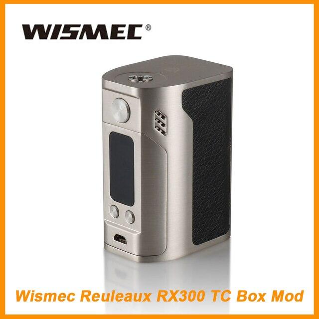 Новые 100% оригинал Wismec Рел RX300 TC поле Mod VW/TC Wismec RX300 серии с большой OLED Экран RX200S RX 300