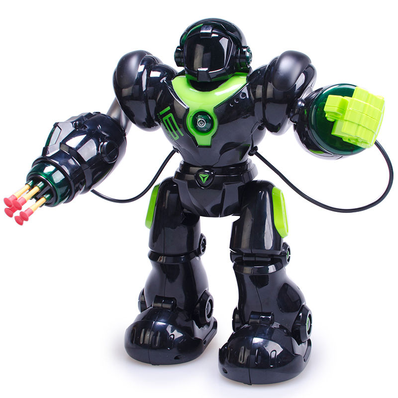 RoboCop Humanoid Toy Robot with Remote Control Cartoon Singing Dancing Swingably Programmable Intelligent Robot Model Toy new 17 degrees of freedom humanoid biped robot teaching and research biped robot platform model no electronic control system