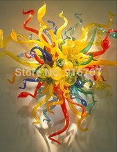 Free Air Shipping Dining Room Multi Colored Blown Glass Traditional Wall Light