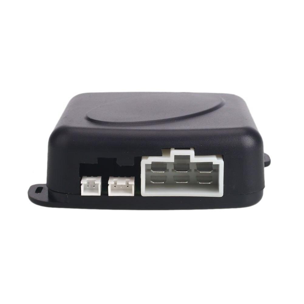 Flight Tracker Black Abs Car Push Button Ignition Smart Key Durable Intelligent Car Lock Keyless