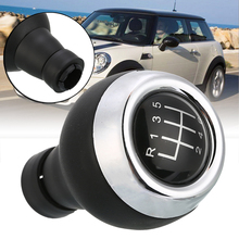 6 Speed Gear Stick Shift Knob For Mini Cooper R55 R56 R57 R58 R59 F54 F55 F56 F57 for COUNTRYMAN R60 R61 ambermile 3d metal car stickers rear trunk tail emblem for mini cooper s r55 r56 r57 r58 r59 r60 r61 f54 f55 f56 f60 accessories