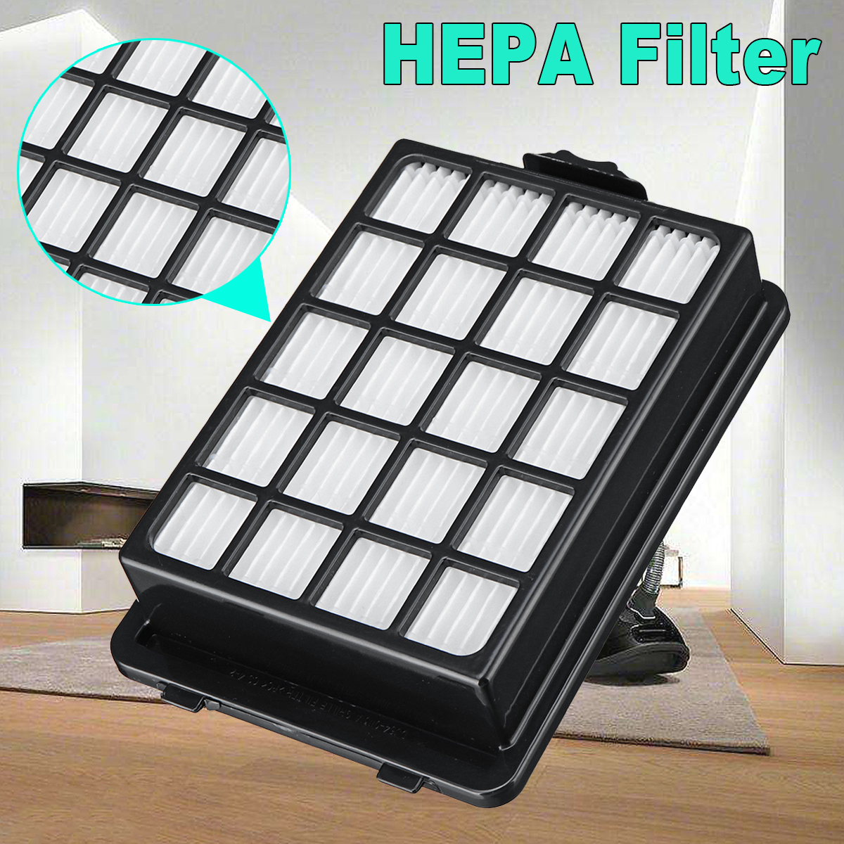 H13 HEPA Grille Replacement Filter For Samsung For CycloneForce Pet Sensor Vacuum Cleaners цена
