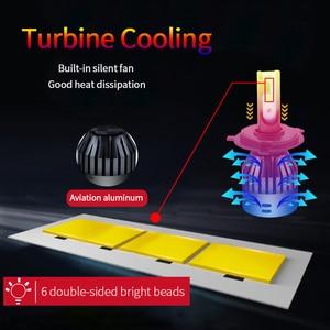 Image 4 - Ampoule led 6000k h4 9005 h7 12v 9006 9004 hb3 hb4 D2 9007 H13 H15
