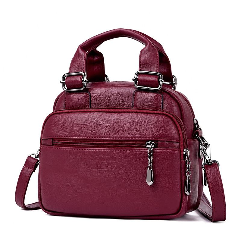 Multifunction Women Backpacks Female Vintage Shoulder Bags School Bags For Girls Designer Leather Women Travel Backpack Mochilas
