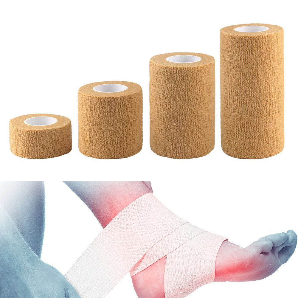 2.5/5/7.5/10 Cm * 4.5 M Sports Elastoplast Strong Elastic Sports Tape  Self Adherent Self Adhesive Tape Cohesive Bandage Tapes