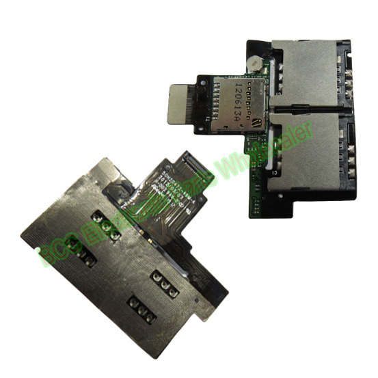 For HTC  Desire VC T328D SIM Micro SD TF Memory Card Slot Reader Flex cable Original 1 Year Warranty Free Shipping