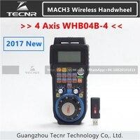 CNC Handwheel Wireless Mach3 MPG Pendant Handwheel For Milling Machine 4 Axis MPG WHB04 WHB04 L
