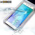 Bolsa impermeable del bolso del teléfono case para iphone 7 6 s 5S sí sellado teléfono bolsa para samsung galaxy s7 j7 para xiaomi mi5 redmi note 4 case