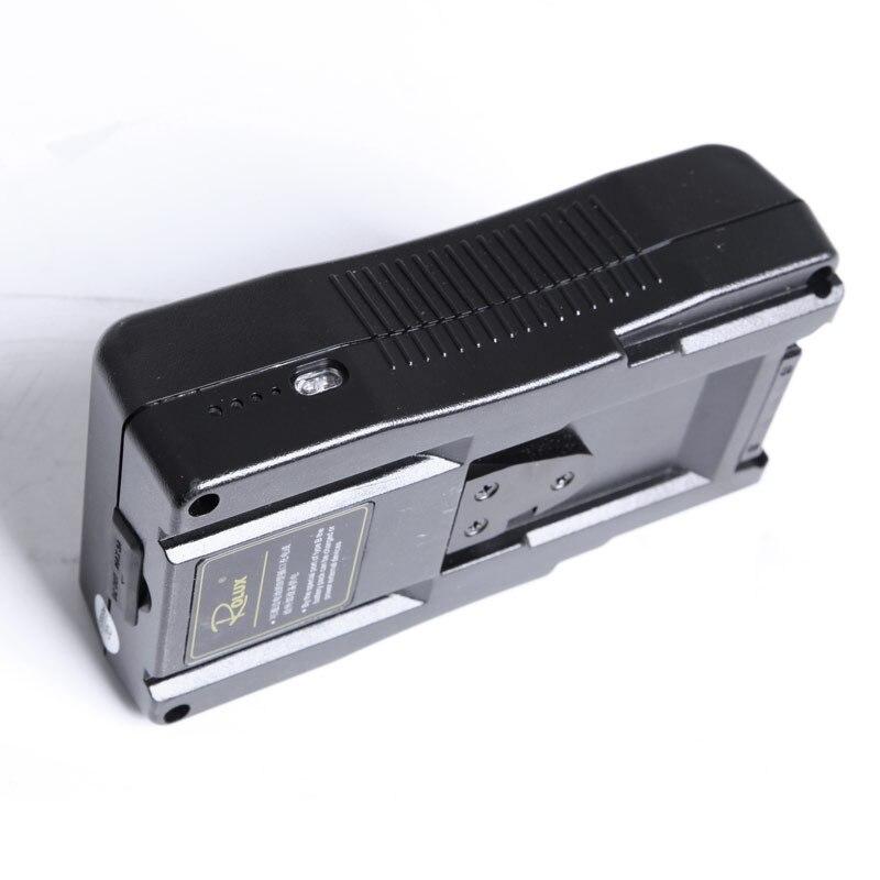 RL 130S macchina fotografica V porta luce della macchina fotografica batteria BP grande batteria al litio 14.8 v per la macchina fotografica HA CONDOTTO LA luce cintura CD50 - 2