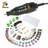 Tungfull Electric Drills Flex Shaft Engraver 220v Mini Drill Machine Set For Dremel 4000 3000 Rotary