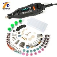 Tungfull Electric Drills Flex Shaft Engraver 220v Mini Drill Machine Set For Dremel 4000 3000 Rotary