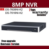 Hikvision DS 7608NI K2 DS 7616NI K2 8CH 16CH 4K H.265 NVR Network Video Recorder