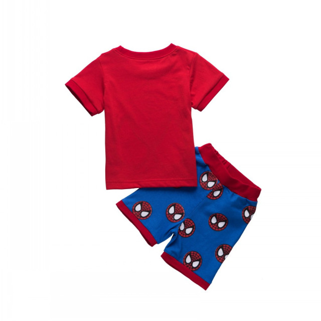 Spiderman Shirt And Shorts 1-7 years