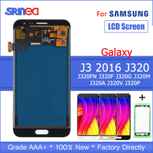 купить LCD Replacement For Samsung Galaxy J3 2016 J320 J320F J320H LCD Display Touch Screen Digitizer Assembly With Adhesive Tape по цене 1046.04 рублей