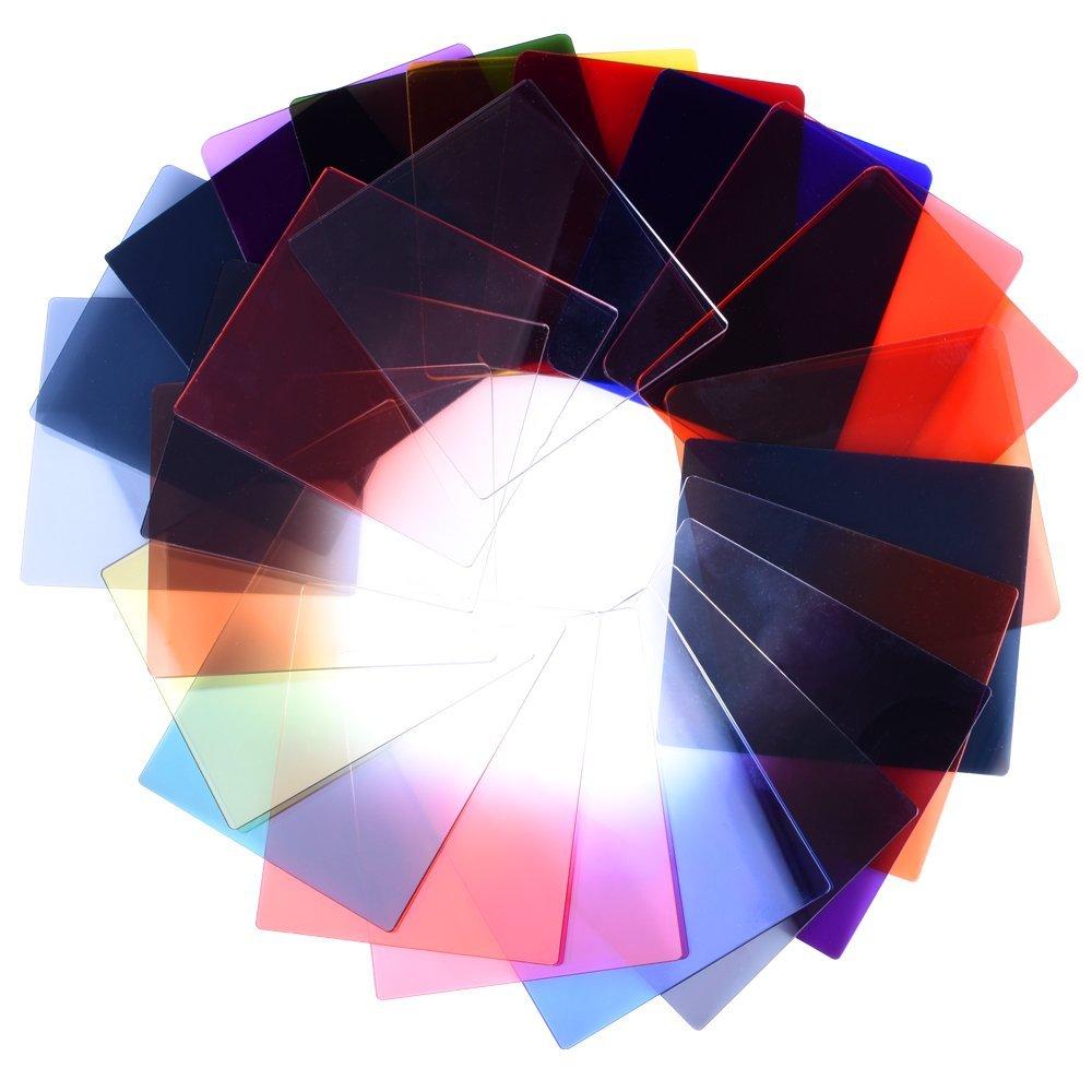 Filtros de luz de colores 24-1 Juego de filtros Cuadrado Graduado ND2 - Cámara y foto - foto 4