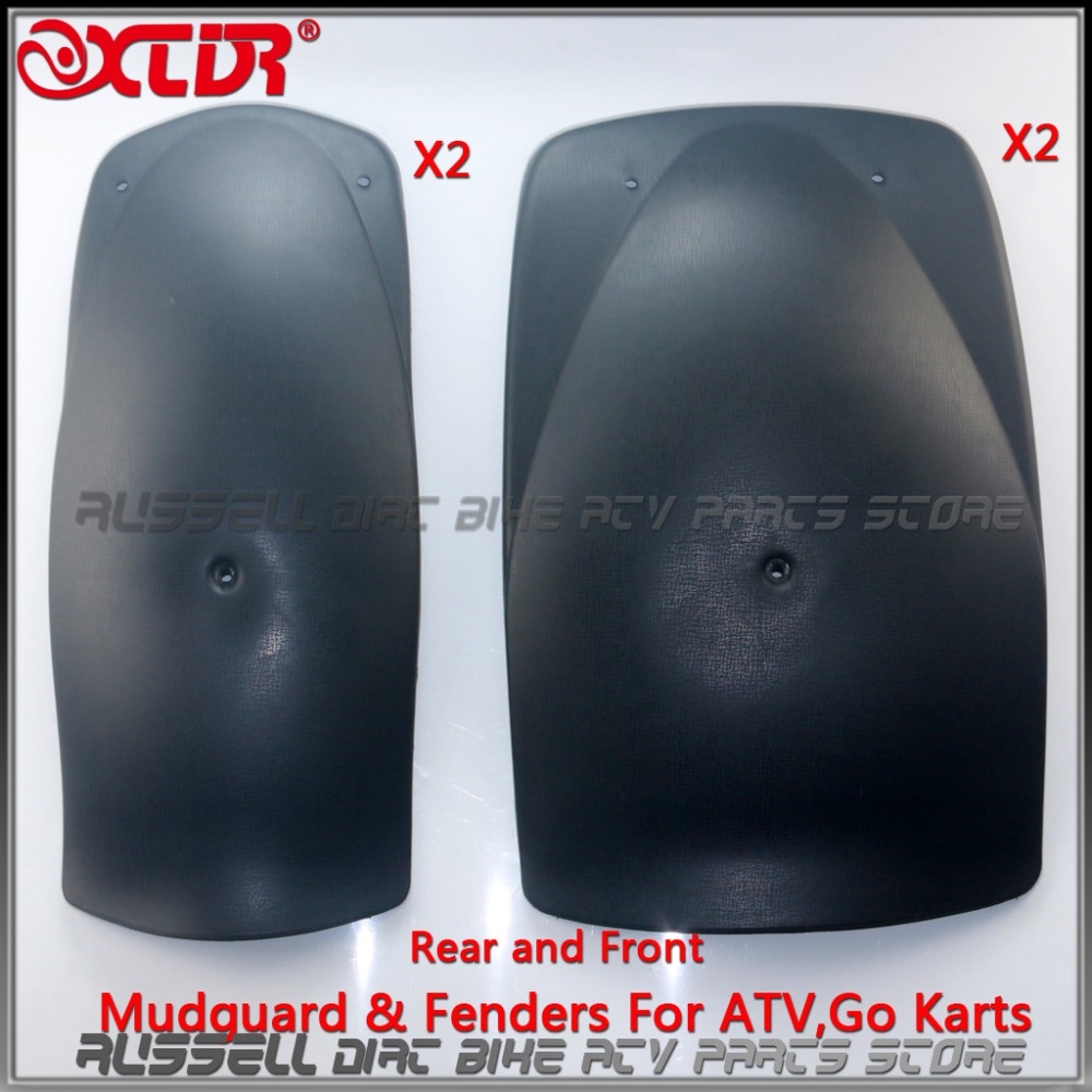 4PCS Go kart Rear fender for 150 250 cc KINROAD ROKETA SUNL HAMMERHEAD SAHARA ATV Quad