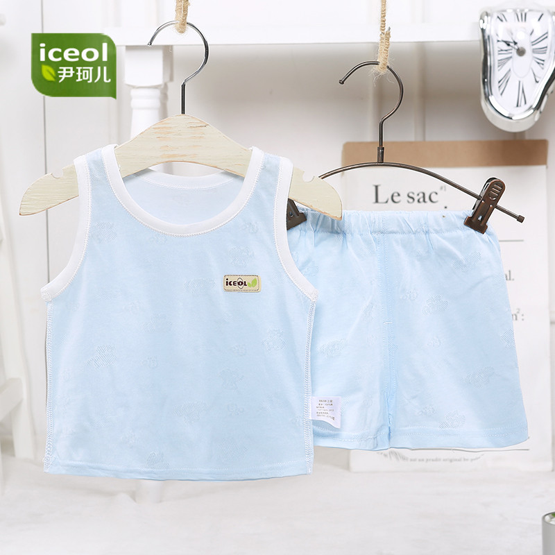 Cotton O-Neck Summer Babys Sets Comfortable Boy Girls Clothes Infant Outfit Sports Suit New Baby Set Newborn Babies Vest Gifts