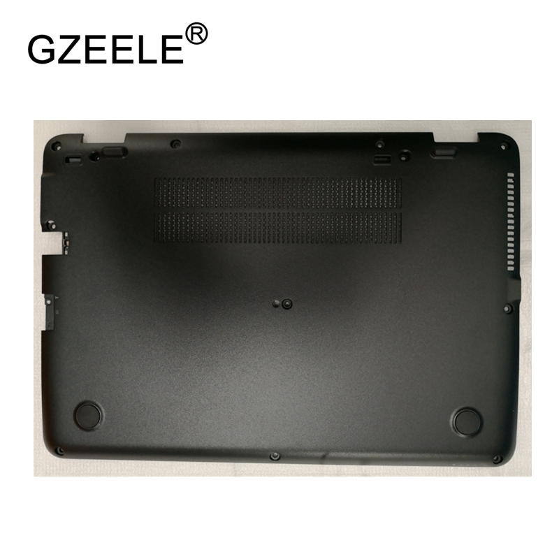 GZEELE New Laptop Bottom Base Case Cover For HP EliteBook 840 G3 Base Chassis D Cover Case shell lower cover BLACK 821162-001 цена