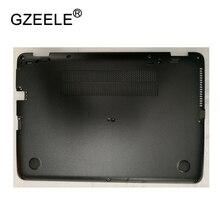цена на GZEELE New Laptop Bottom Base Case Cover For HP EliteBook 840 G3 Base Chassis D Cover Case shell lower cover BLACK 821162-001