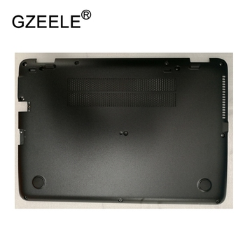 GZEELE New Laptop Bottom Base Case Cover For HP EliteBook 840 G3 Base Chassis D Cover Case shell lower cover BLACK 821162-001