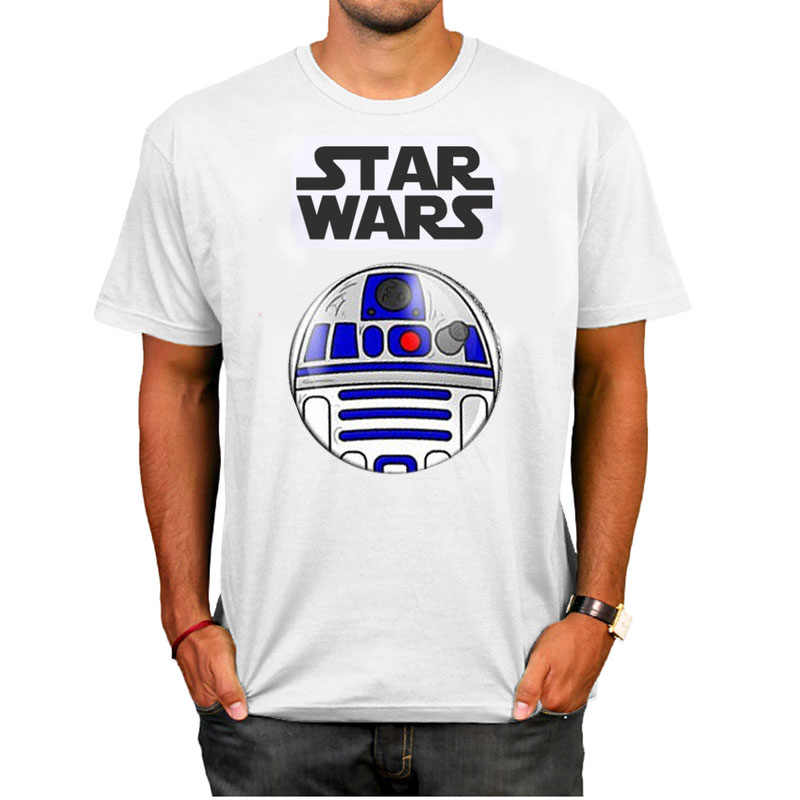 QuYiFang New Summer T Shirt Gift Keychain Women Men Star Wars BB8 Cartoons Clothes M Short Sleeve T-Shirt Tops Tees Boy
