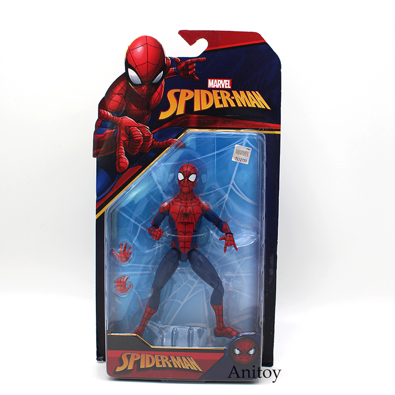 7 Styles Spider-Man Action Figure Toy Homecoming 2099 Agent Venom Gwen Stacy PVC