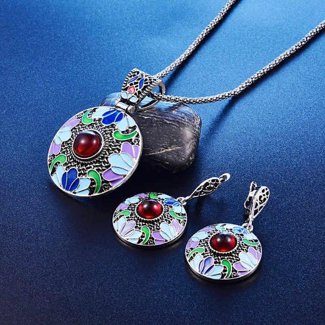 Bohemian Enamel Jewelry...