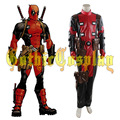 2016 Nuevo Traje de x-men Deadpool Marvel Superhero Cosplay Traje