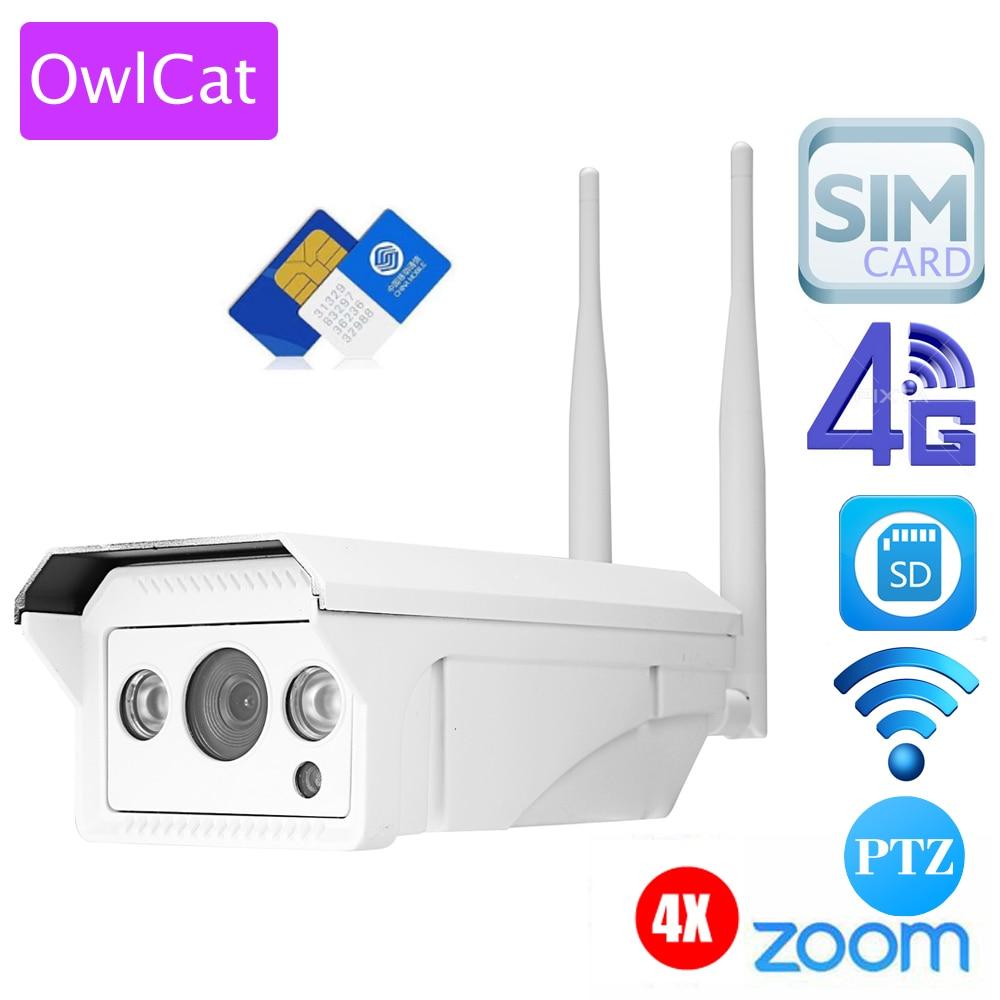 """bilder für OwlCat 3516C + 1/2. 8 """"SONY323 1080 P/3518EV200 + 1/3"""" AR0130 960 P HD Gewehrkugel Ip-kamera drahtlose 3G 4G SIM Karte IP Kamera Wifi Außen"""
