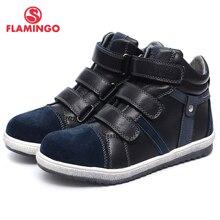 QWEST (HẠC) mùa Thu Cảm Thấy Chống trơn trượt thời trang trẻ em giày cao chất lượng giày Kids cho bé trai Size 31 36 Miễn Phí vận chuyển w6XY231/232
