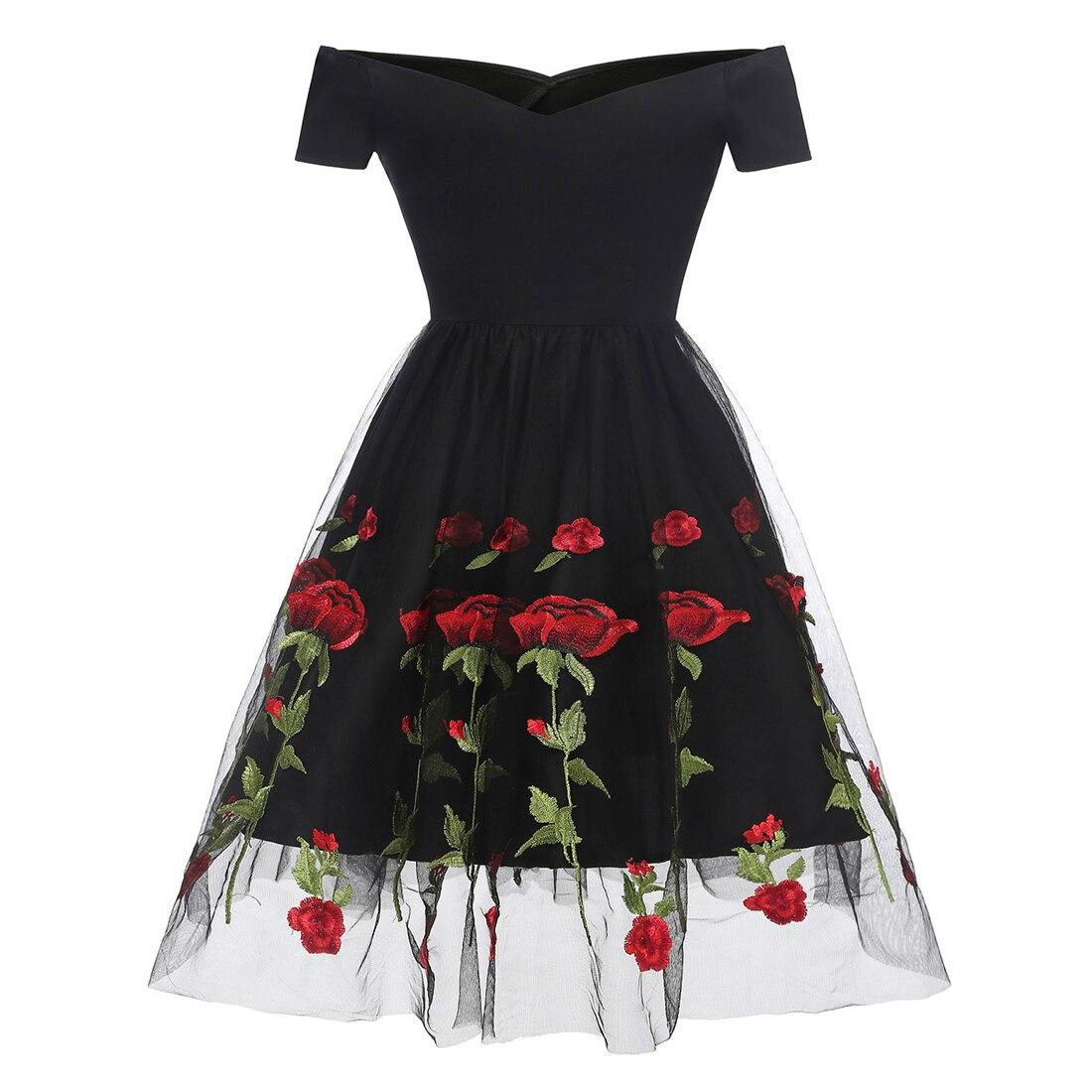 2019 Etnische Dress Vestido 3