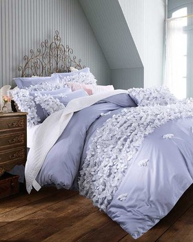60S Embroidery process Lace sexy girls 100%cotton bedding set duvet cover/sheet/pillowcases king/queen size