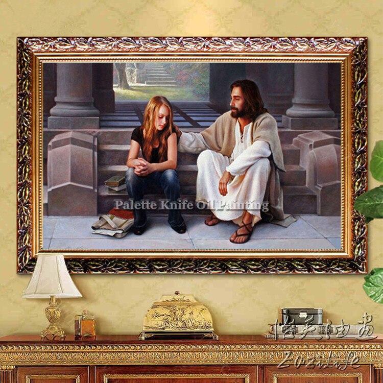 ᗑ】Jesús Cristo Jesús lienzo carteles e impresiones arte de pared ...