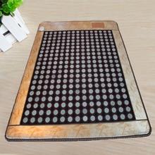 100% Good Jade! Natural Jade Heat Mattress Tourmaline Mat Home Health Care Mat Good Sleep Mat AC220V Size190x120cm,Free Shipping