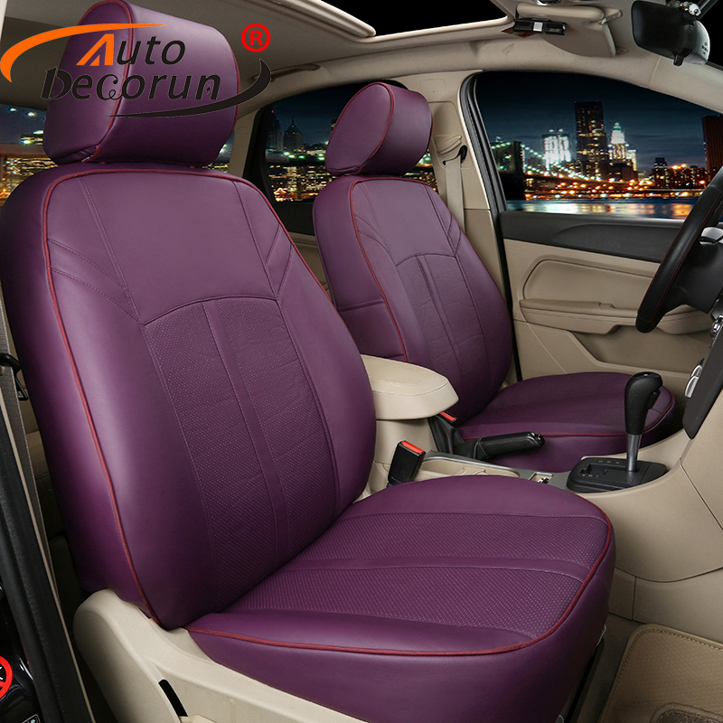 AutoDecorun Custom fit leder sitzbezug für toyota estima previa sitzbezüge set autos kissen unterstützt zubehör auto styling