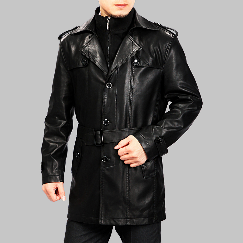 Mens Real Leather Jackets - Jacket