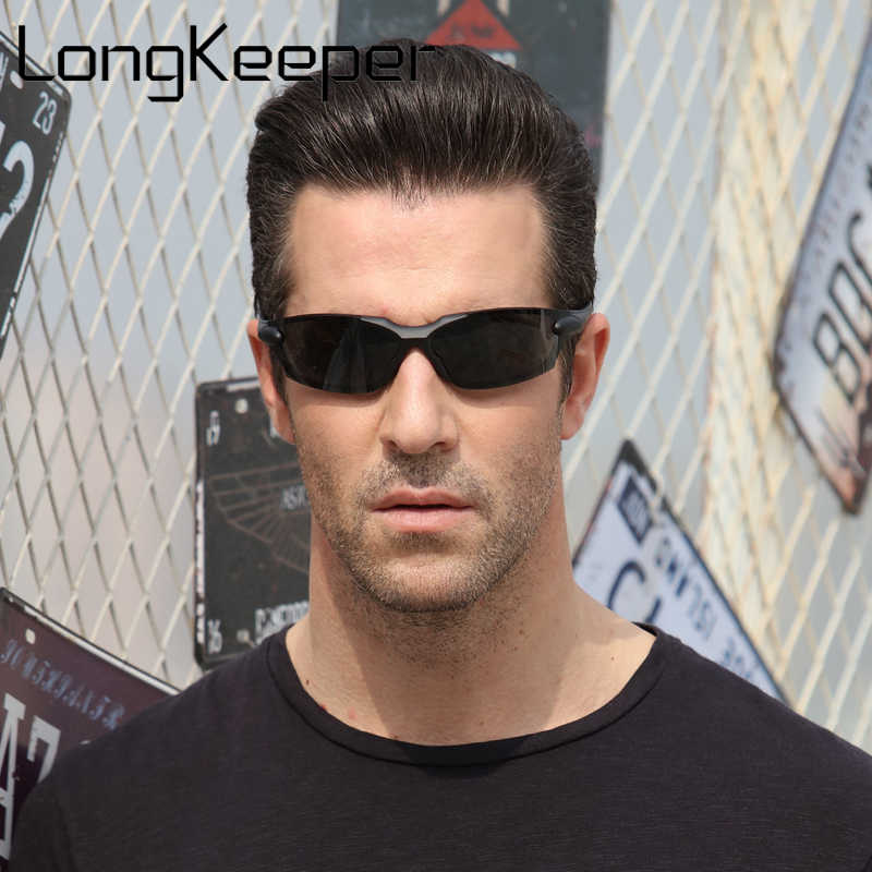 Rahmenlose Ultra Licht Hingeless Randlose Hohe Qualität Polarisierte Sonnenbrillen Fahren Angeln Google Anti-Glare Gläser Shades Männlichen