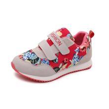 Confortable Enfants 2017 Nouveau Sprint Automne Enfant Sport sneakers shoes pour les filles casual sport shoes semelle en caoutchouc taille 26-36 enfants sport