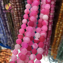 GHRQX 8MM Natural Weathering  Stone Beads For Jewelry Making Diy Bracelet Necklace