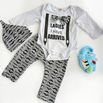 turkey print set newborn kids baby boy girl clothes my first thanksgiving letter long sleeve boysuit pants outfits set 0 2t Mustache Print Baby Boy Clothes Set Newborn Clothes Bow Tie Tops+Dark Gray Pant+Cap 0-2T Clothing For Baby Boy Long Sleeve D20