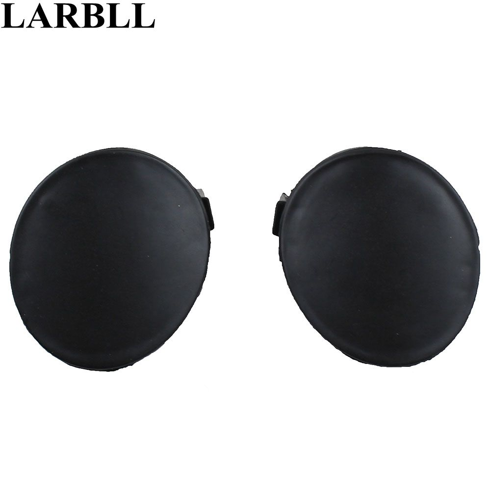 Larbll Pair Front Bumper Tow Hook Eye Cover Cap For Toyota