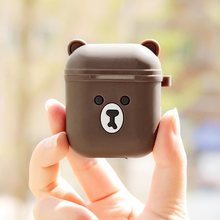 For AirPods Case Cute Cartoon Protective Cover coque For Airpods Earphone Case For Air pods Accessories Headphone case(China)