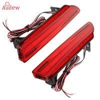 2 Adet/çift Kuyruk Arka Tampon Işık LED ReflectorStop Fren Sis Lambası İçİn Honda CRV 2007 2008 2009