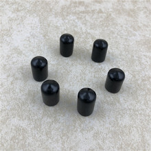 6pcs/lot Black Faucet Cap Soft Plastic Spouts Beer Tap Cover For keeping liquid clean