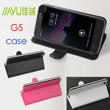 Бесплатная доставка JIAYU G5 чехол, Хорошее качество кожаный чехол + жесткий задняя крышка для JIAYU G5 телефона