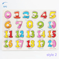 New Children Kids Preschool Educational Wooden Letters Alphabet Numbers Jigsaw Puzzle Learning Toy Gift