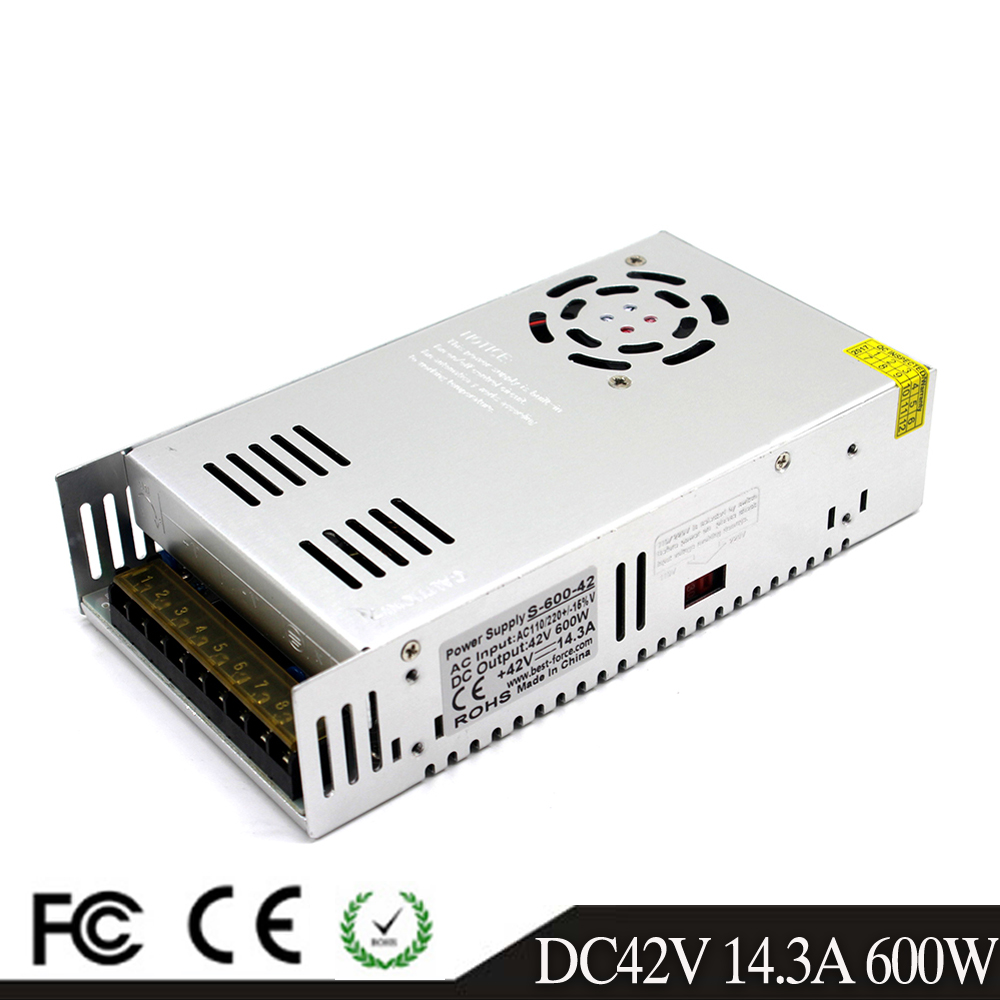 Image 4 - Single Output 600W 30V 20A 32V 18.7A 36V 16.7A 42V 14.3A 48V 12.5A 60V 10A Switching power supply Driver 110V 220V AC DC SMPS-in Switching Power Supply from Home Improvement