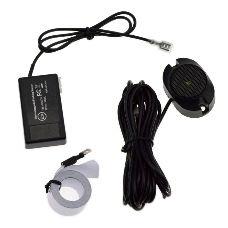 Free shipping Electromagnetic <font><b>led</b></font> parking sensor no holes need to be drilled,parking assistance, easy install,for front and back image
